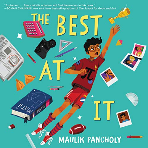 The Best at It Audiobook By Maulik Pancholy cover art