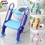 Siège de toilette échelle avec marches WC siège pot Entraîneur de bébé enfant...