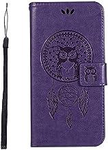 جرابات KINGCOM-Wallet - جراب محفظة Biencaso Owl لهاتف Lenovo Vibe P1 P1M P2 A2010 K6 Note Power K3 A6000 A7010 K5 K8 Note سيليكون Fundas B183 (أرجواني لهاتف iPhone X)