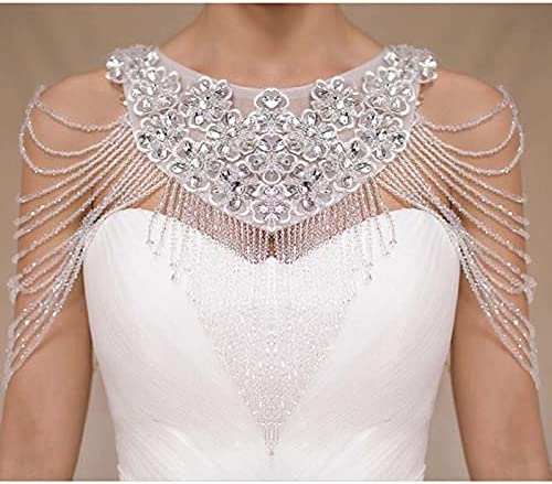 Crystal Shoulder Chain European and Should Luxury Inexpensive Bride trust American