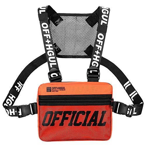 Trido Brusttasche, verstellbare Schultertasche, Walkie-Talkie-Geschirr, Radio-Halter, für Männer und Frauen