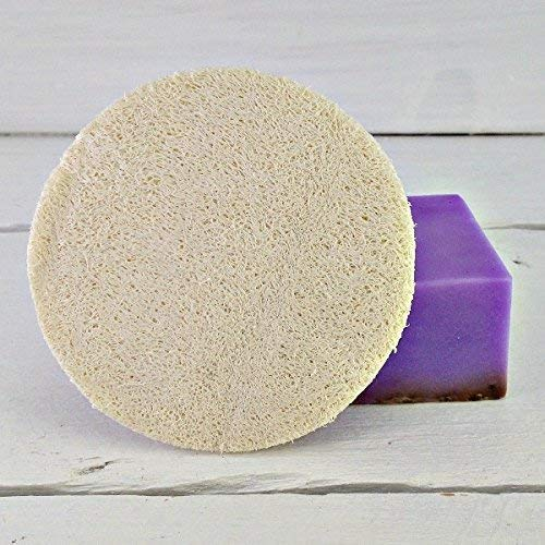 Loofah 3 Inch Scrubbie   Loofah Round   Exfoliating Disc   Facial Circle   Facial Cleansing   Facial Care   Spa Gift   Spa Party