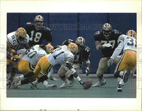 Brett Favre and Dan Marino Green Bay Packers Miami Dolphins NFL 8x10 Photograph Before the Game