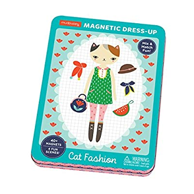 Cat Fashion Magnetic Figures by Mudpuppy