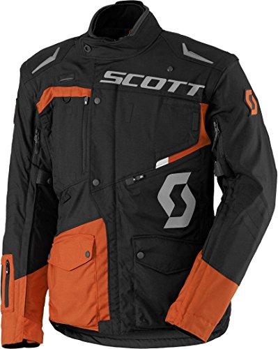 Scott Dualraid DP Motorrad Jacke schwarz/orange 2018: Größe: XXL (54/56)