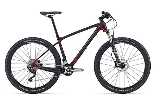 Giant XTC Advanced 2 27, 5 Zoll Mountainbike Schwarz/Rot (2016), 39