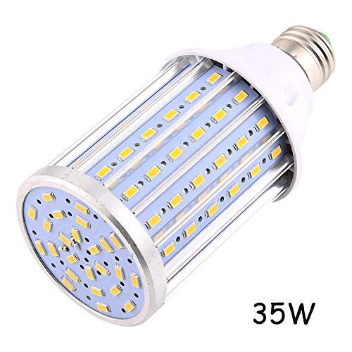 Garage Portico hof etc. E27 / E26 LED-lampen Mais 35W vervangt 350W halogeenlamp AC 85-265V 108LED 5730SMD aluminium LED