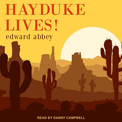 Hayduke Lives! audiobook cover art