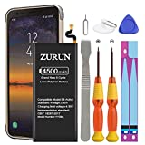 Galaxy S8 Active Battery ZURUN 4500mAh Li-Polymer Battery B-BG892ABE Replacement for Samsung Galaxy S8 Active SM-G892 G892V G892A G892T G892P with Screwdriver Tool Kit | S8 Active Battery Kit