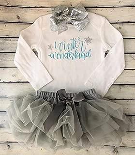 Winter Wonderland First birthday outfit - Cake smash outfit - First birthday girl -1st birthday outfit - girls outfit - One bodysuit - girls first birthday - 12 MONTHS - Winter Onederland - Onederland