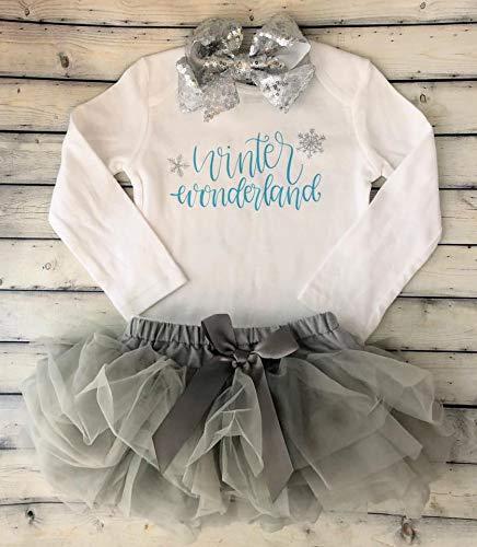Winter New York Mall Wonderland First birthday outfit Fi Cake smash - wholesale