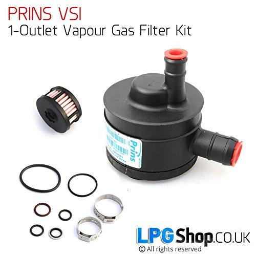 Prins VSI Filter - 1 Ausgang - für Prins VSI Anlagen 3-5 Zyl. wie abgebildet...