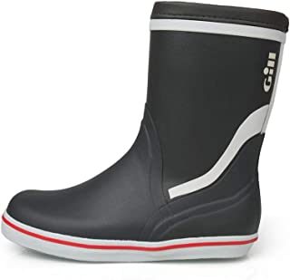 Gill Short Yacht Boot, Color: Carbon, Size: 14 (901c48)