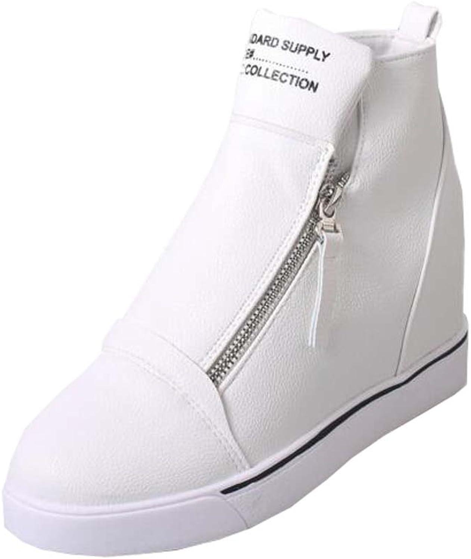 Damen Flache Schuhe hohe Schuhe