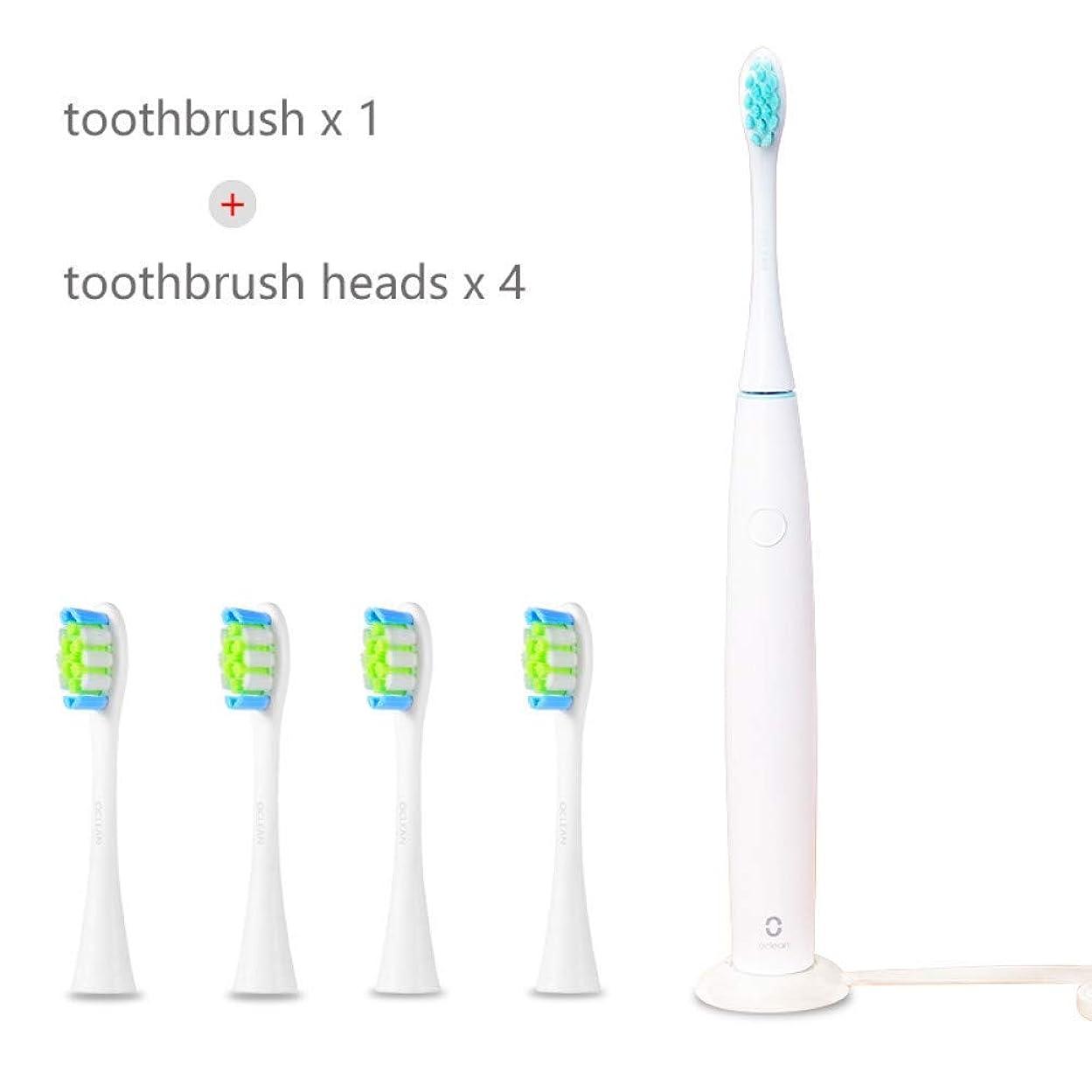 騙すウミウシ気分が良いXiaomi Oclean Sonic電動歯ブラシ充電式40000ストローク/分清潔ホワイトニングオーラル健康誕生日ギフト、C