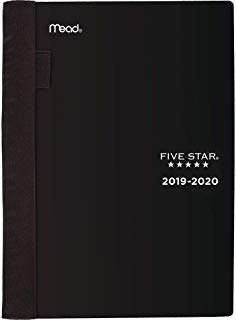 """$20 » Five Star Student 2019-2020 Academic Year Weekly & Monthly Planner, Small, 5-3/4"""" x 8-1/2"""", Advance, Black (CAW45005)"""