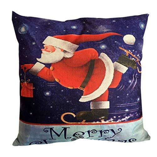 Pingrog Kerstmis pluizig hoeslaken huis sofakussensloop kussen eenvoudige stijl moderne hoge bekleding zacht katoen nieuw