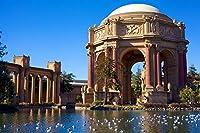 カリフォルニアサンフランシスコバードUSAミュージアムパレスオブファインアダルトパズル子供1000ピース木製パズルゲームギフト家の装飾特別な旅行のお土産