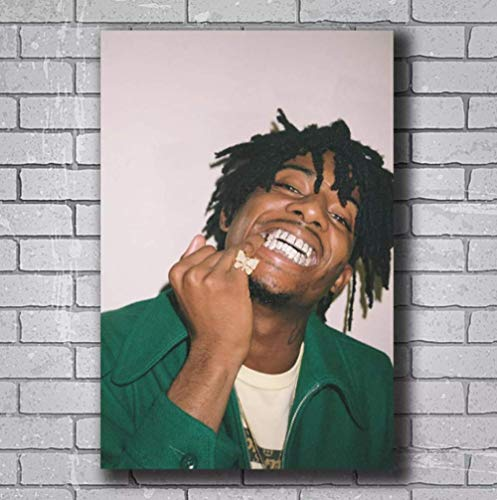 liujiu Playboi Carti Rap Hip Hop Music Canvas Painting Posters Wall Art Prints for Home Wall Decor Decoration Gift -20x28 Inch No Frame 1 Pcs
