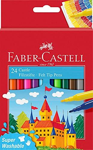 Faber-Castell 554202 - Pennarello Castle, confezione da 24