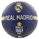 Balón de fútbol del Real Madrid, tamaño 5.