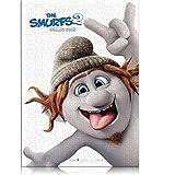 1000 Piezas de Rompecabezas clásico para Adultos The Smurfs Children's Puzzle 38x26 cm Juego de Rompecabezas Educativo colección de Arte DIY