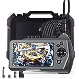 teslong nts150rs mano Industrial endoscopio boroscopio Cámara de inspección con pantalla LCD de 3,5pulgadas 5.5mm de diámetro flexible Sonda impermeable cámara