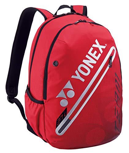 YONEX Backpack Flame red Klassische Sporttaschen, schwarz, 1-3 Tennisschläger