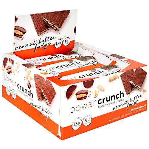 Power Crunch Protein Energy, Peanut Butter Fudge Butter Fudge, 1.4 Ounce, 12 pack