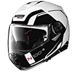 Nolan N100-5 Motorcycle Helmet Consistency Matte White Medium
