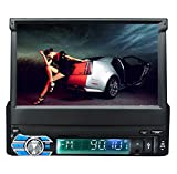 Ezonetronics Radioblende 1 Android 5.1 Auto Radio Stereo 17,8 cm Kapazitive Touchscreen High Definition 1024 x 600 GPS Navigation Bluetooth USB SD Player 1 G DDR3 + 16 G Nand-Speicher Flash...