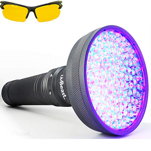 uvBeast V2 - Black Light UV Flashlight with HIGH...