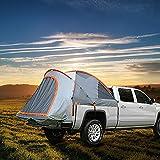 HXML Acampar Camioneta Pickup Tienda/Capacidad para 2 Personas De Coches Al Aire Libre Tiendas/A Prueba De Viento Impermeable De La Lluvia Portátil Plegable Cabana