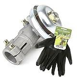 Renvoi d'angle pour débroussailleuse carré + gants multi-services - Pièce neuve