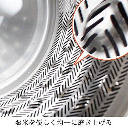 『アイリスオーヤマ 精米機 銘柄純白づき RCI-A5-B』の3枚目の画像