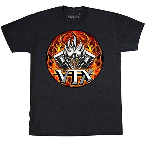 inktastic VTX T-Shirt X-Large Black - WickedApparel by Michael Spano 1eea9