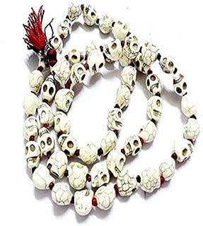 Style OK Goddess Kali Mund Mala Skeleton Mund Mala Maha Kali Skull Mala 108 + 1 Beads Prayer Beads