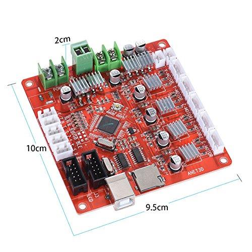 Anet V1.7 3D Drucker Zubehör Motherboard Steuerplatine für Anet A8 Prusa I3 Reprap 3D Drucker Teile