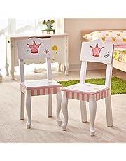 Fantasy Fields Princess & Frog houten stoelenset (zonder tafel) W-7395A/2