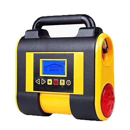 Qilo Neumático del compresor de Aire, Bomba de 12V DC de los neumáticos con la inflación y la deflación Modos, Manómetro Digital