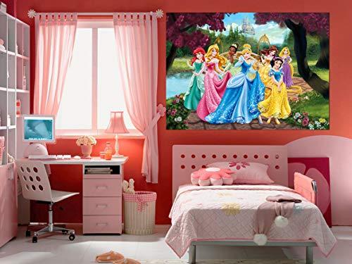 Disney Princesse - Décoration Murale - Maxi Poster - Papier Peint 160x115 cm