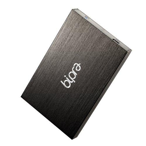 "Bipra - Hard-Disk esterno portatile NTFS, 63,5mm (2,5""), colore: Nero - schwarz 500 GB"