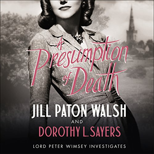 A Presumption of Death audiobook cover art
