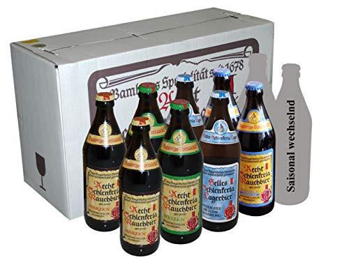 Exklusiver Direktversand von der Brauerei Schlenkerla (www.Schlenkerla.de): Lernen Sie Rauchbier kennen - 10er Paket