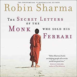 The Secret Letters of the Monk Who Sold His Ferrari audiobook cover art