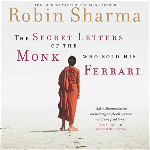 Page de couverture de The Secret Letters of the Monk Who Sold His Ferrari