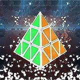 Cubo Mágico Rubík Pirámide Original Magic 3D - Triangular, Multicolor, Durable, y Fácil - Pyramid 3D NG Versión Mejorada Pyraminx
