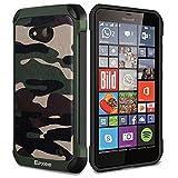 Epxee Coque pour Microsoft Lumia 640, Silicone Anti Choc Protection Etui Housse pour Microsoft Lumia 640 (Camo-001)