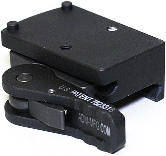 American Defense AD-RMR-CO STD Now on sale Max 73% OFF Optic Riflescope Mount Black