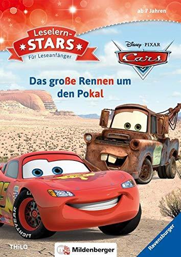 Disney · PIXAR – Cars: Das große Rennen um den Pokal: Comic- und Filmhelden-Geschichten für Leseanfänger (Leselernstars / Comic- und Filmhelden-Geschichten für Leseanfänger)